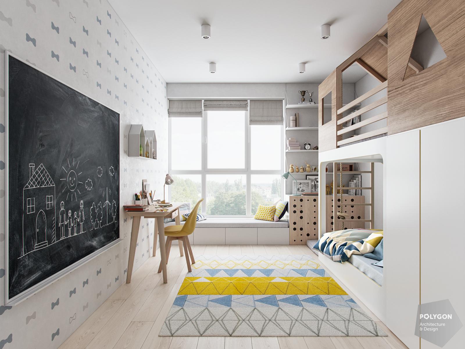 візуалізація дитячої кімнати