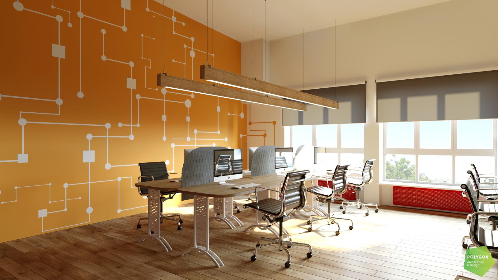 візуалізація офісу