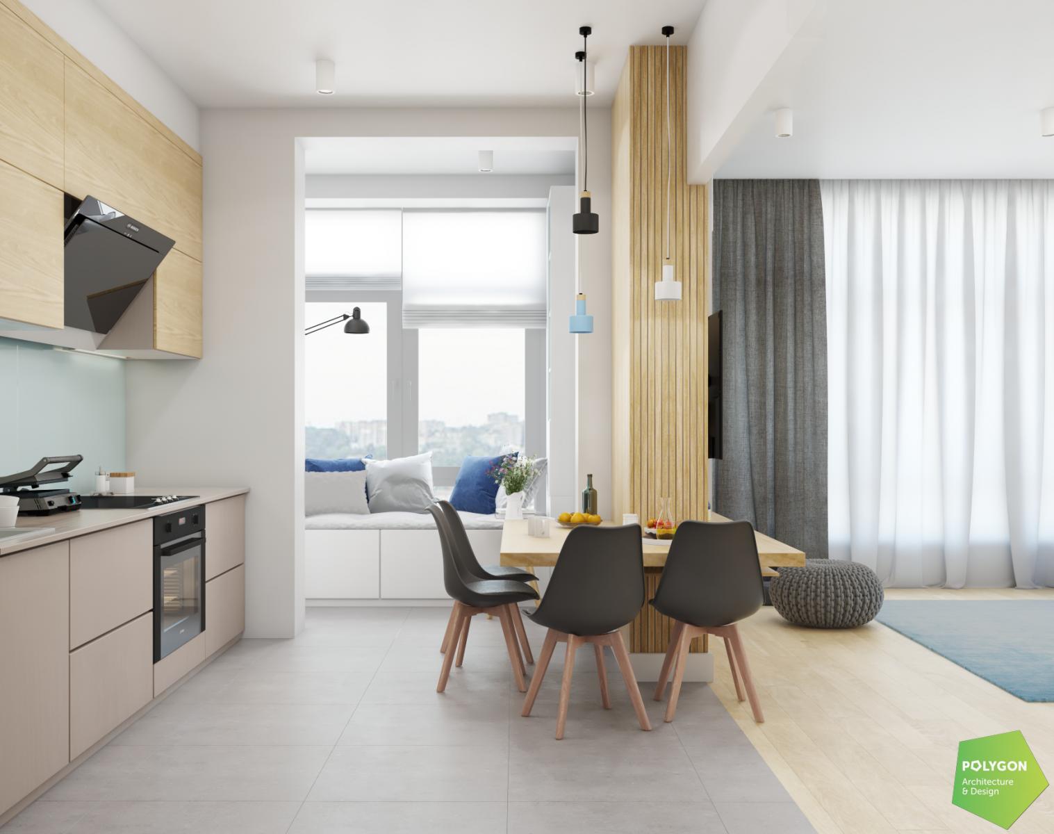 дизайн кухні у портфолійній роботі