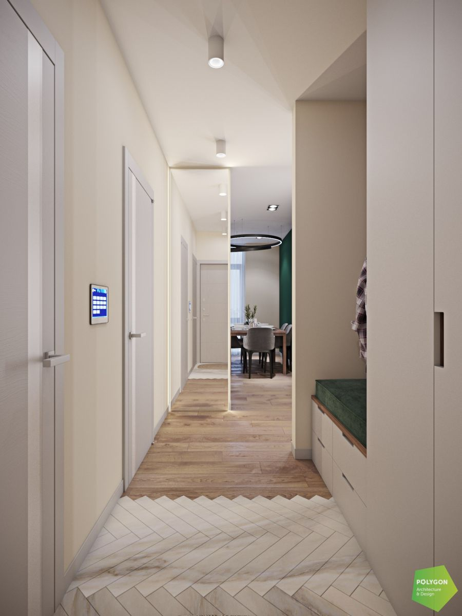 візуалізація коридора