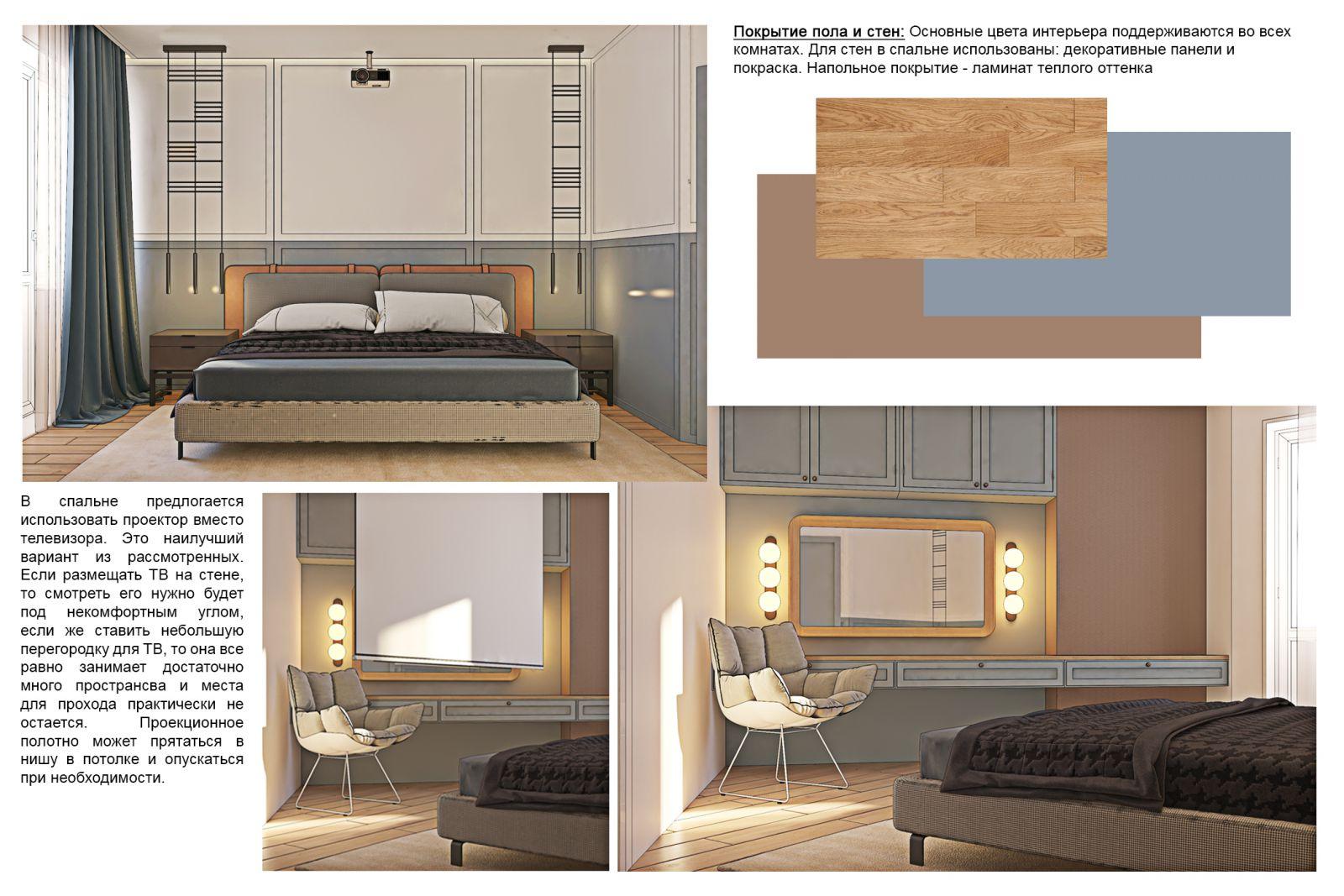 скетчі спальні у #sea_house від polygon