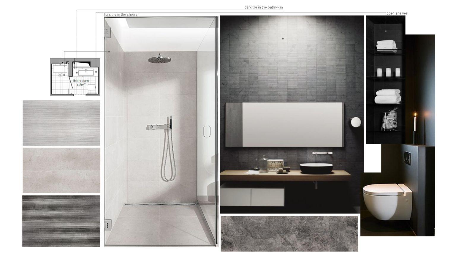 скетчі інтер'єр ванної кімнати у #brody_apartment від Polygon
