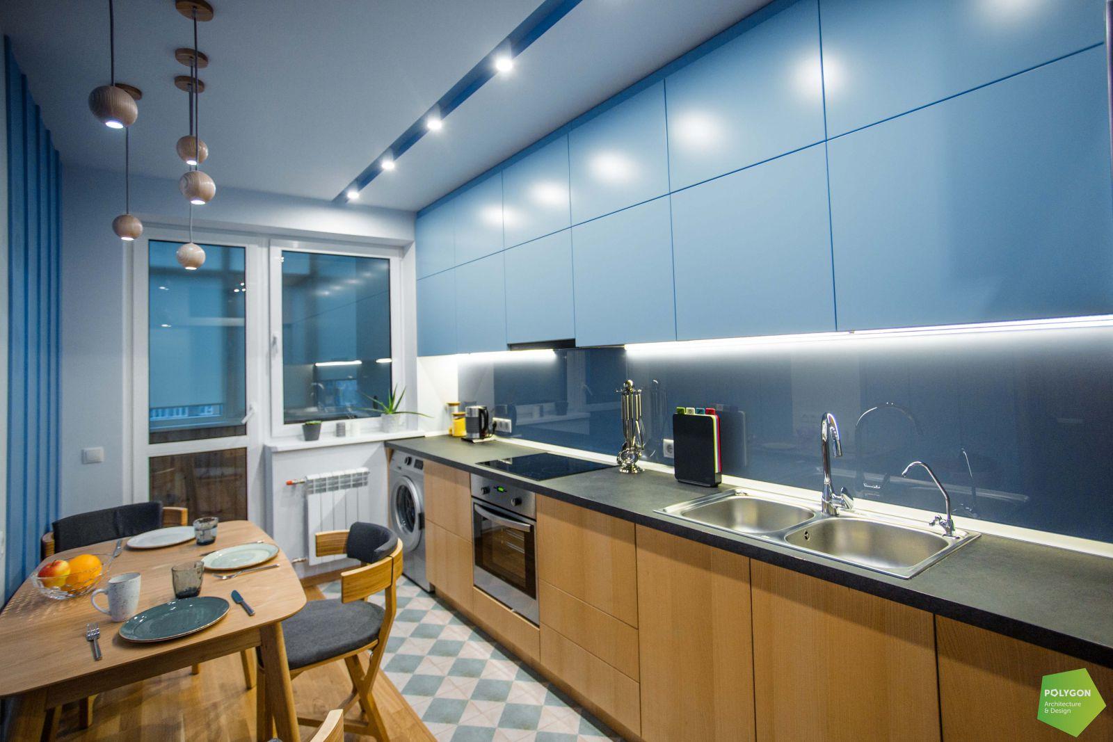 фото кухні в одному зі спільних проектів