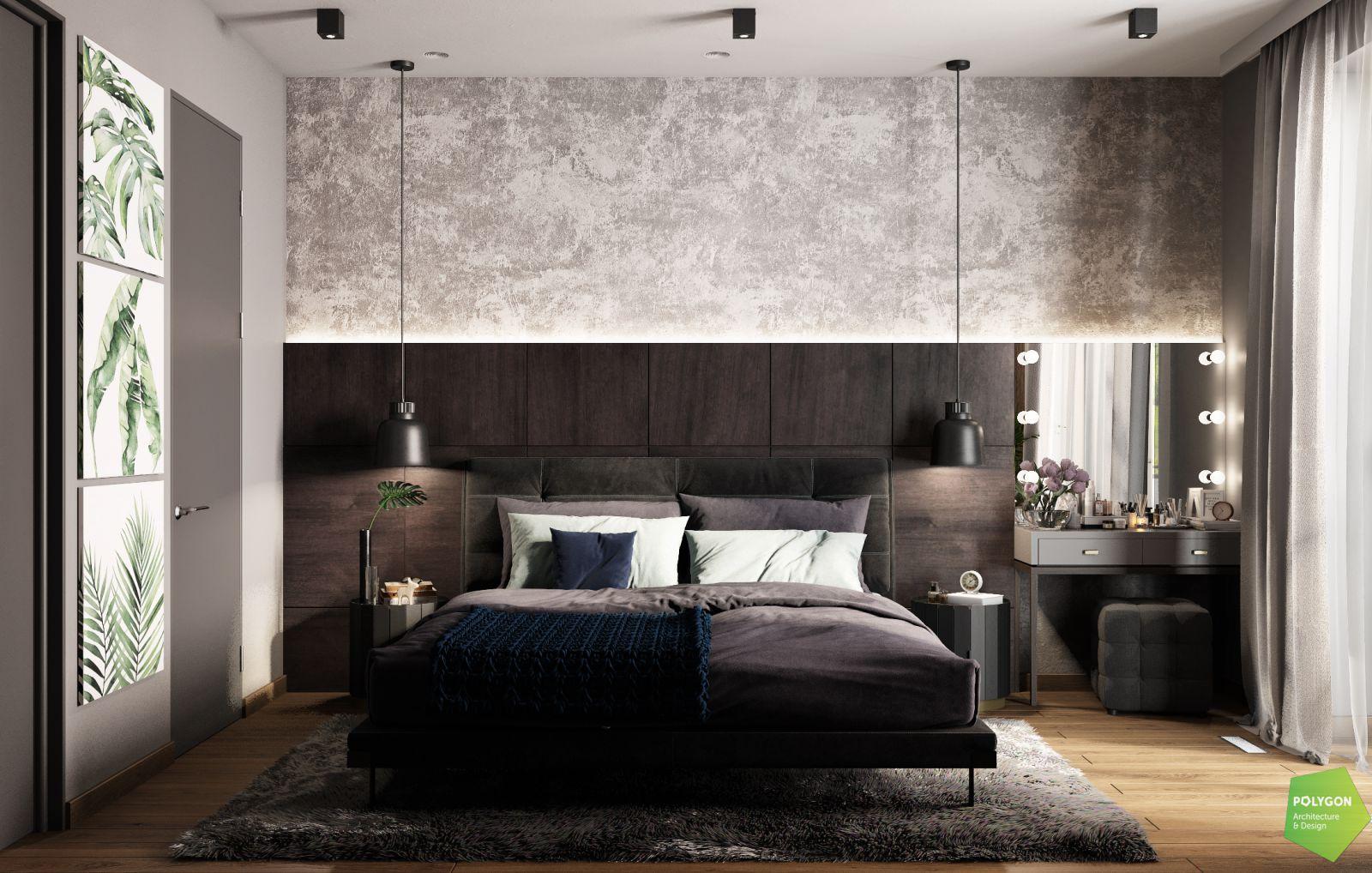 візуалізація спальні на другому поверсі