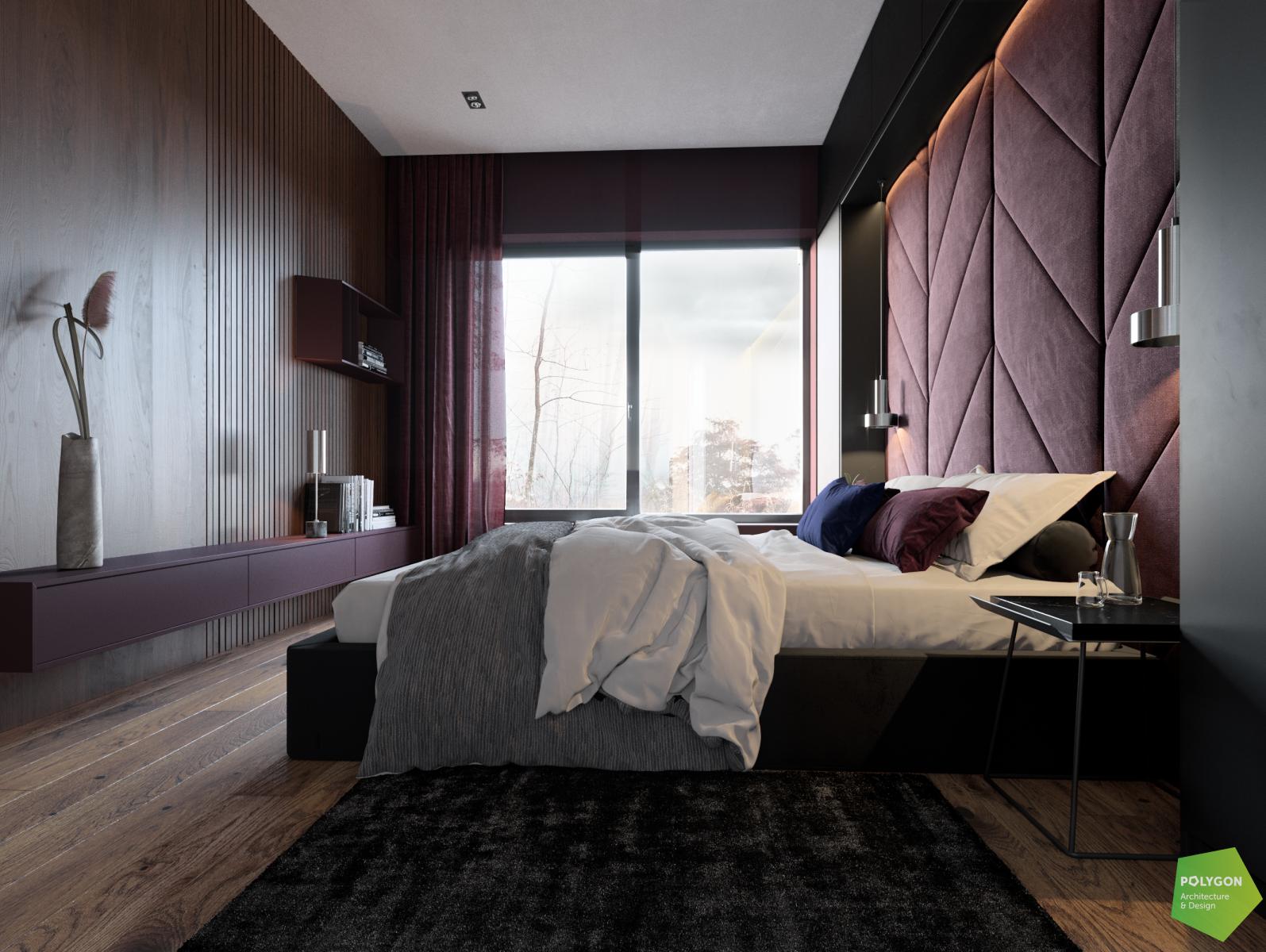 візуалізація гостьової спальні