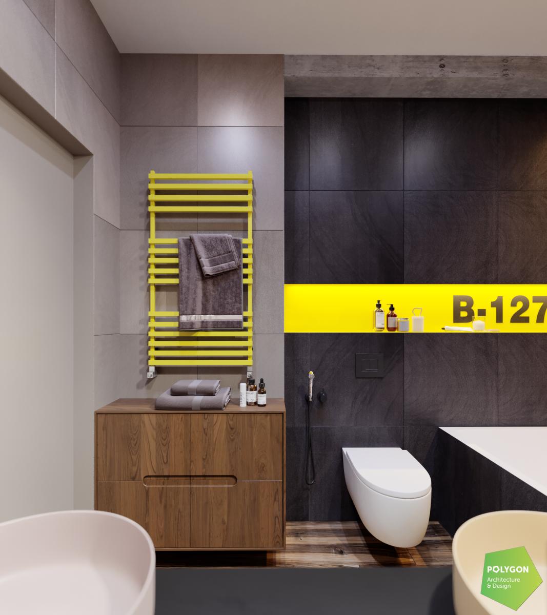 візуалізація ванної кімнати для дітей