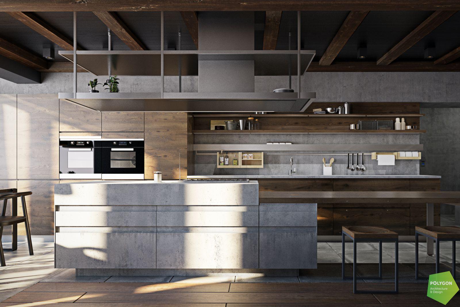 вфзуалізація кухні