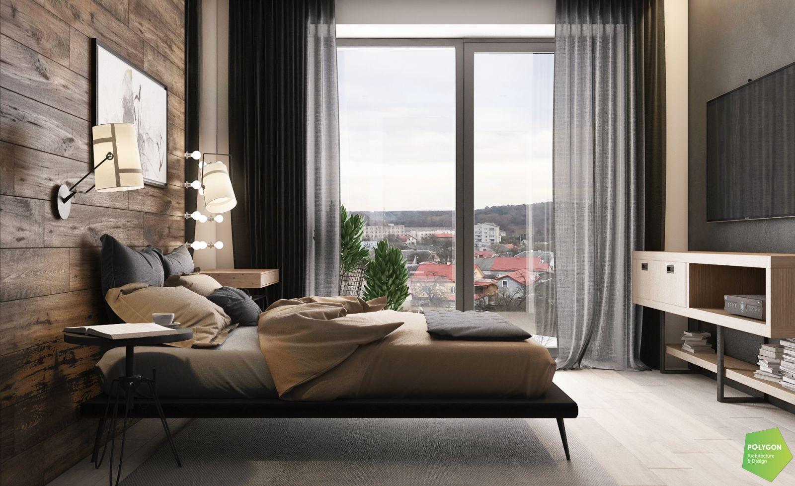 візуалізація спальні на першому поверсі