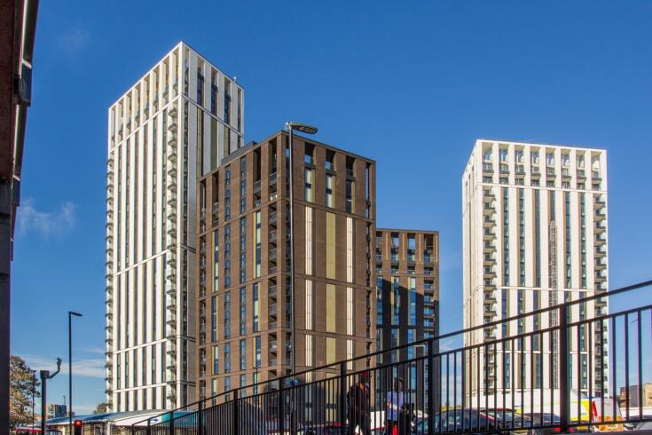 Lewisham Gateway. Приклади житлової нерухомості - Лондон