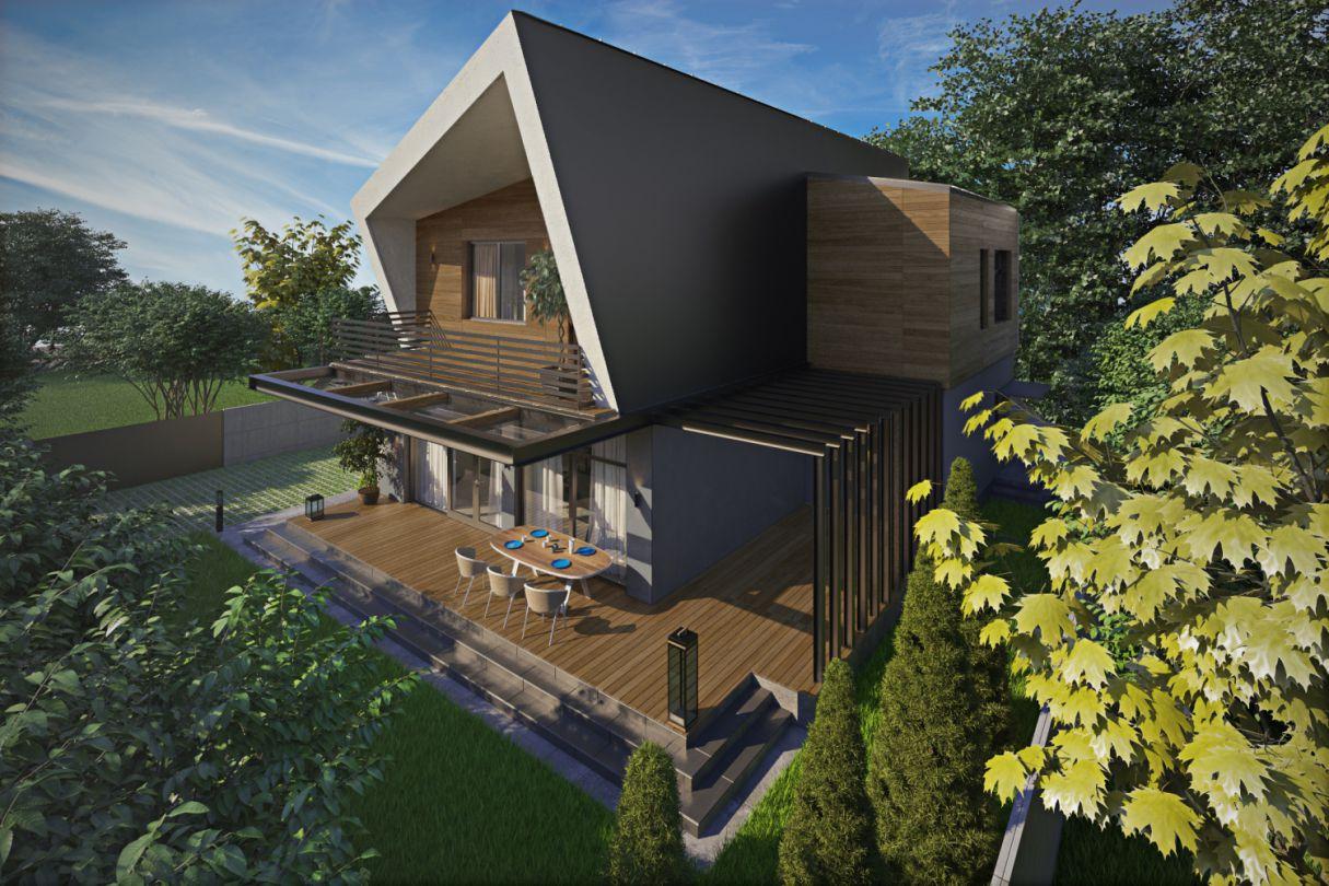 З нуля. Архітектурний проект будинку: Bat house
