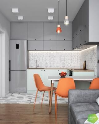 Нова оселя, як чистий лист: Kontrast flat
