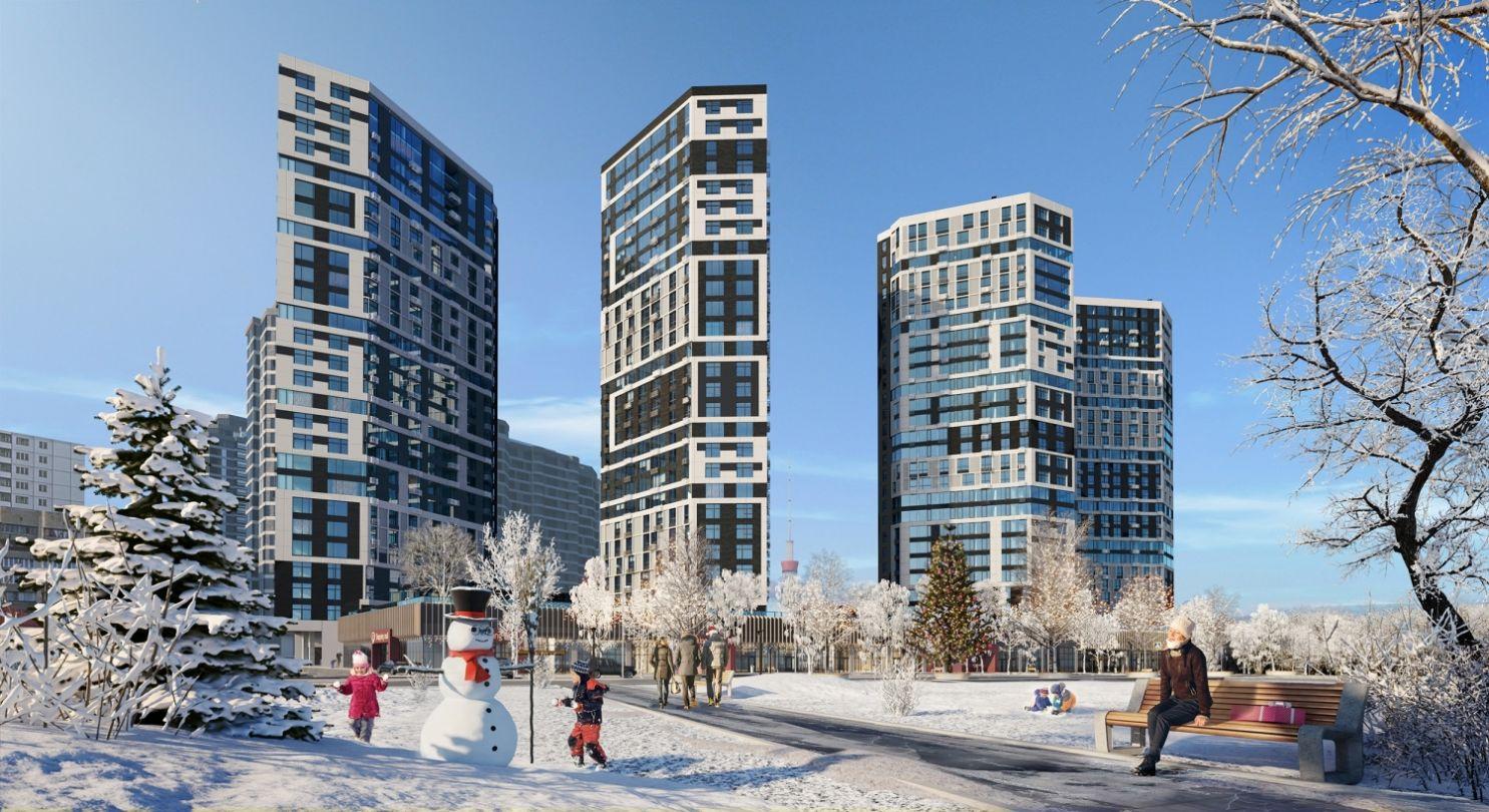 Зимова візуалізація ЖК Poetica, by ENSO