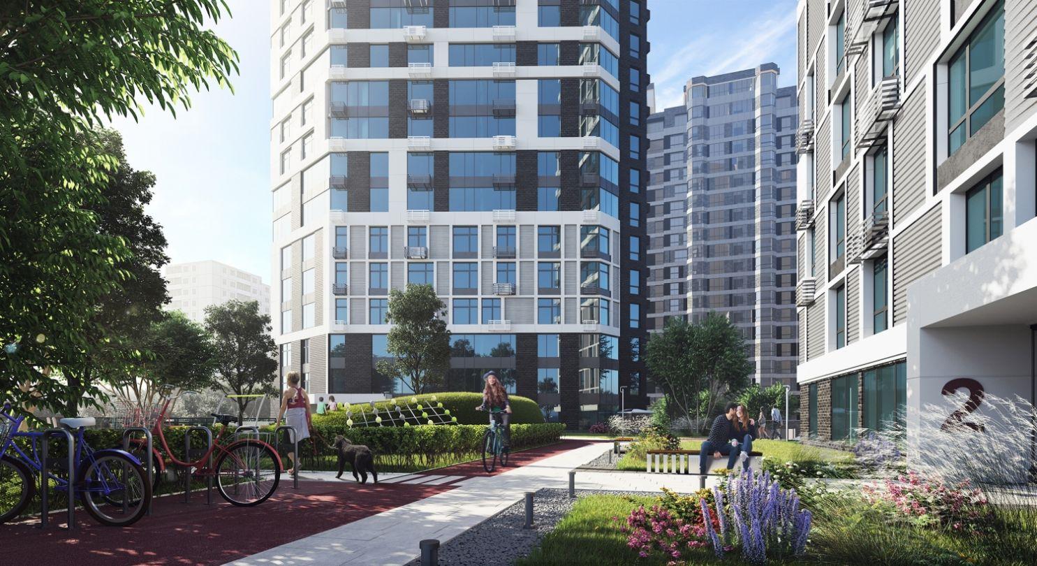 Візуалізації житлового комплексу - Poetica, by ENSO