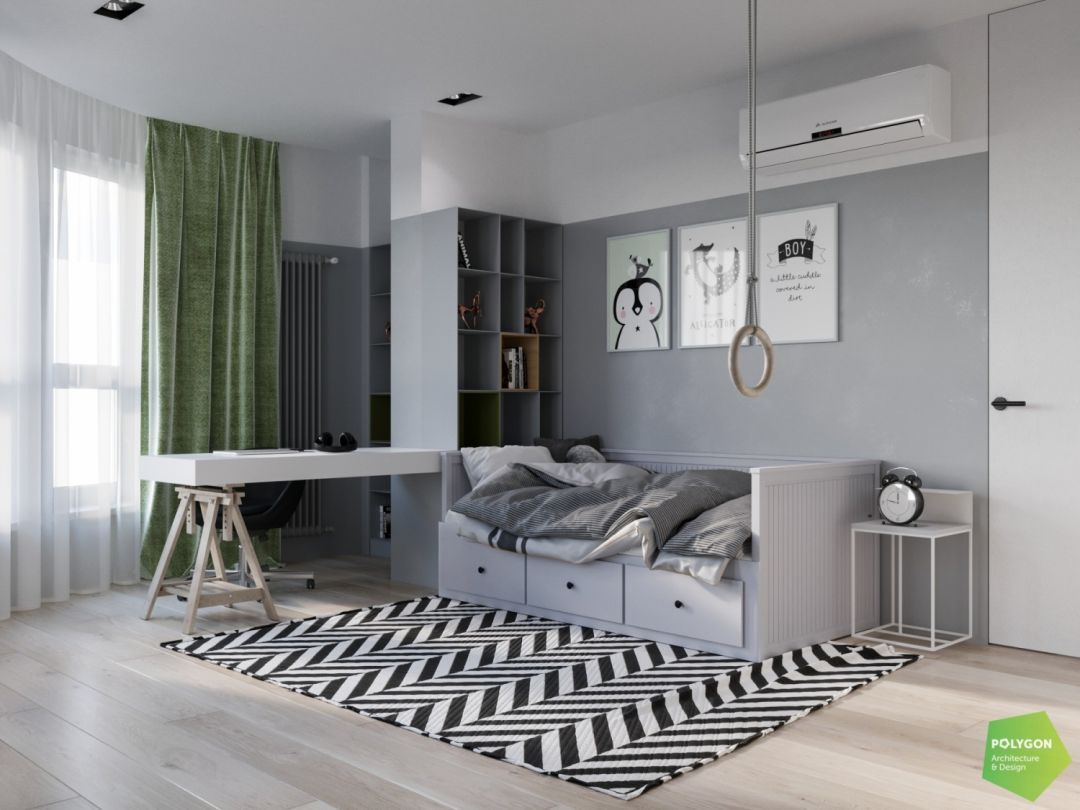 Вбрання для дворівневої квартири: Minimal apartment
