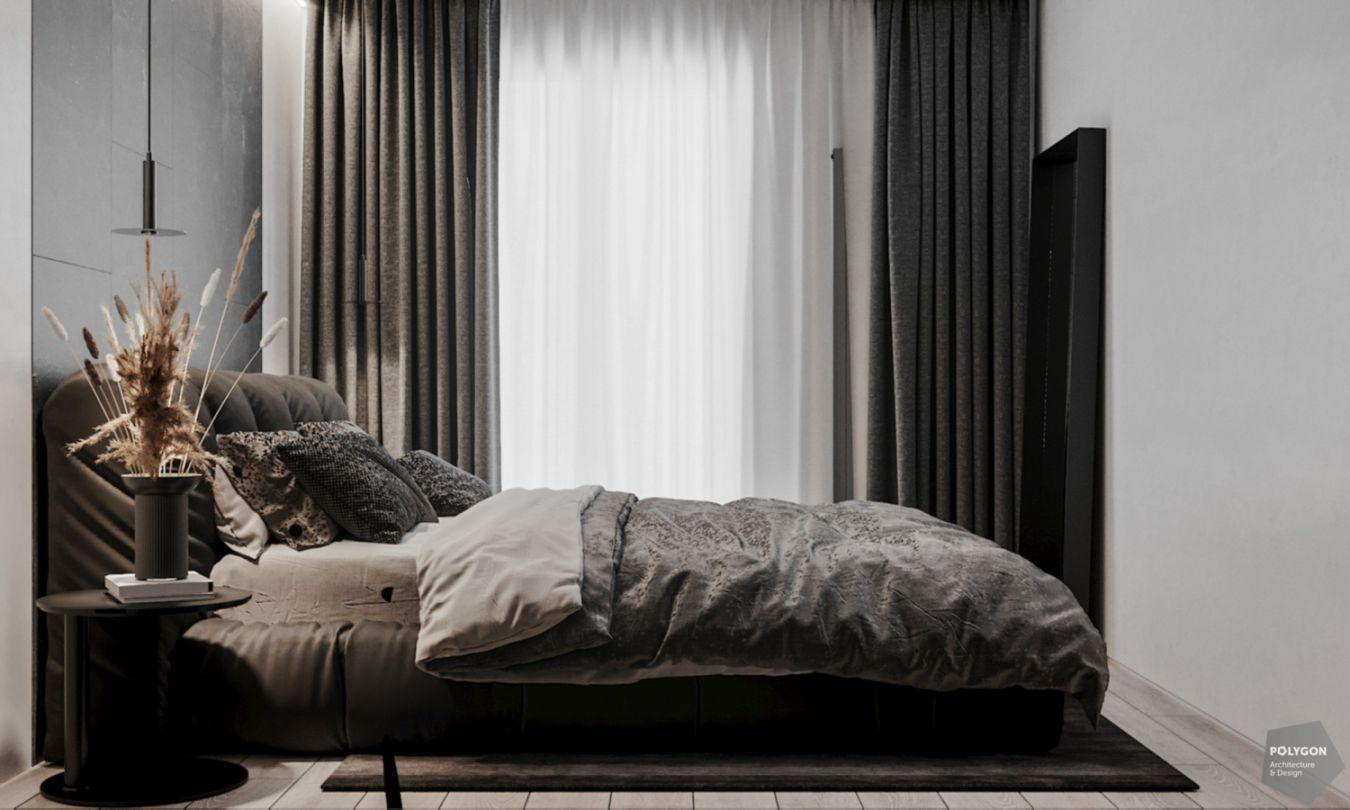 Стильний мінімалістичний інтер'єр: Gray apartment