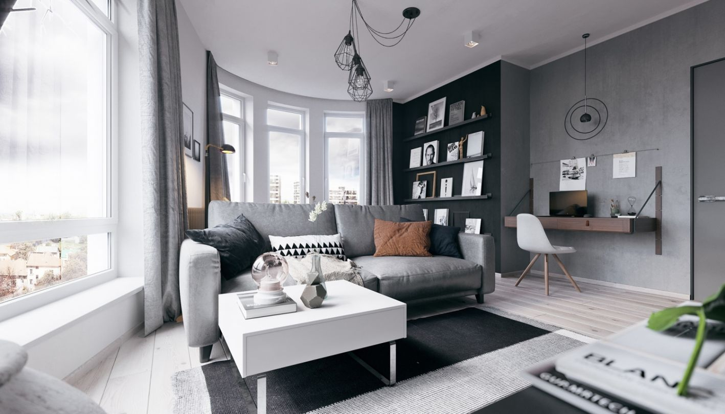 Дизайн проект: Buhryn apartment
