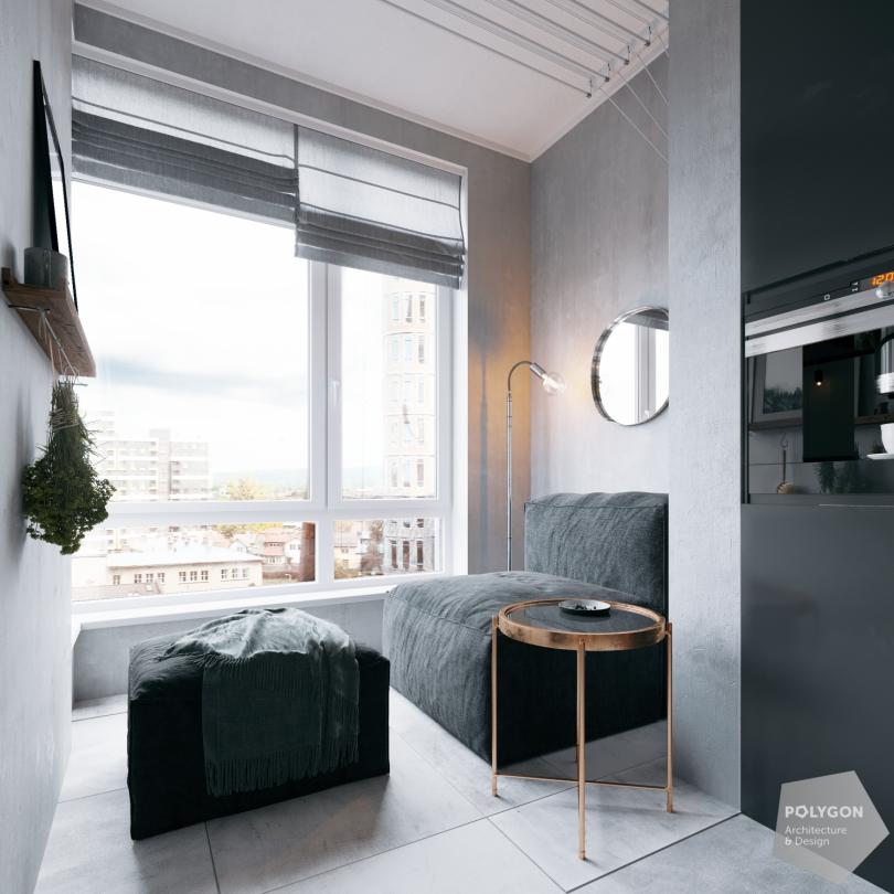 Усі відтінки спокою: Buhryn apartment