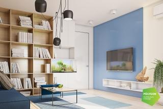 Дизайн дворівневої квартири: Chuchko house