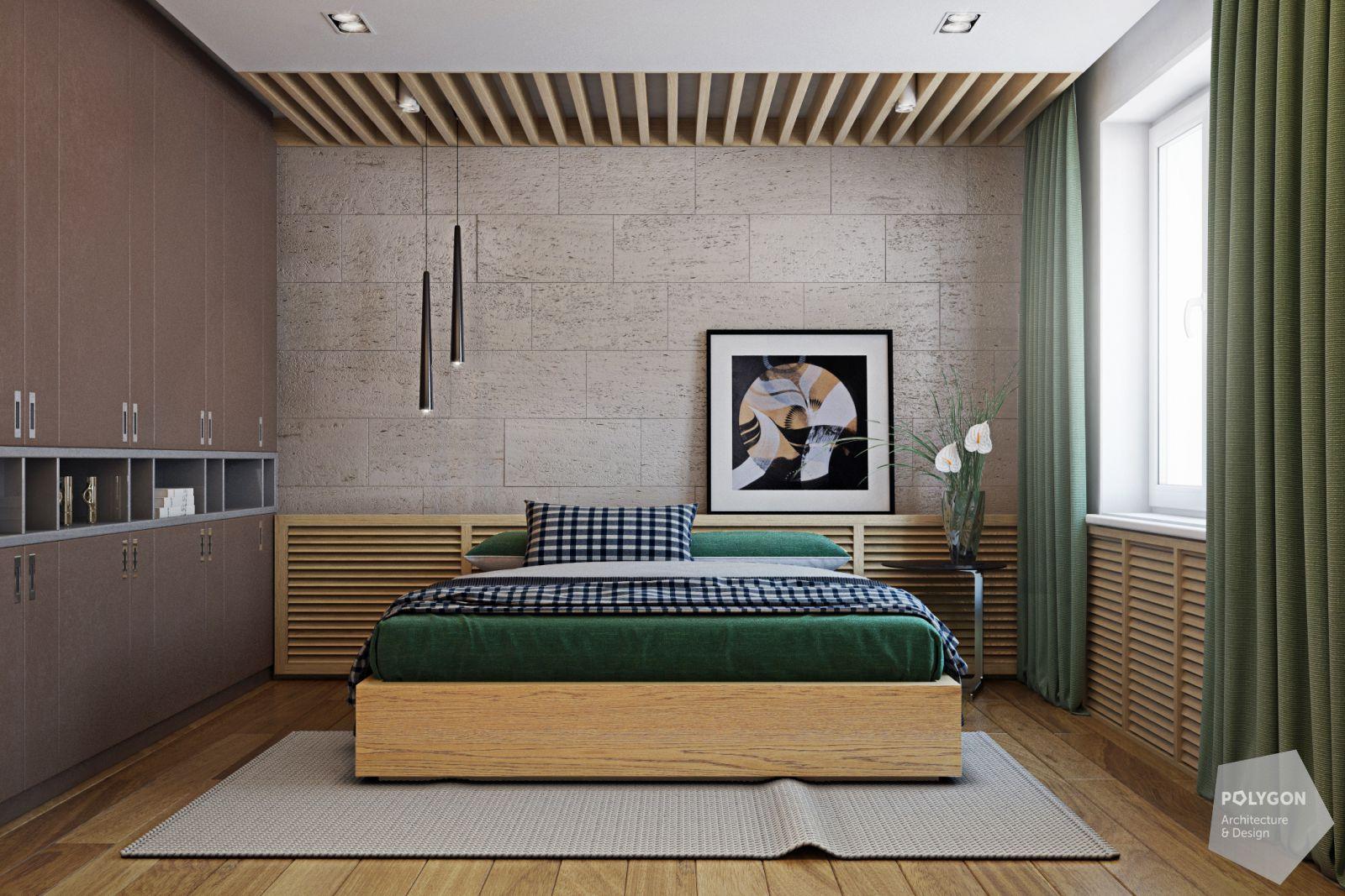 візуалізація спальні