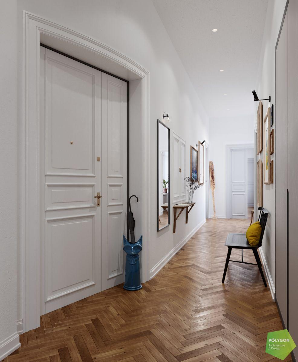 візуалізація коридор